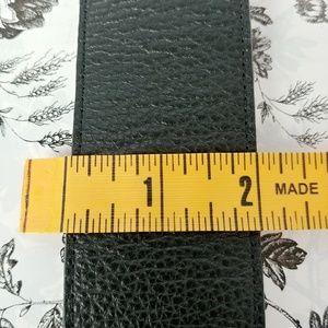 Talbots Accessories - Talbots wide black leather belt